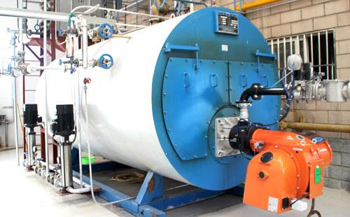 3吨燃气蒸汽锅炉4公斤压力洗涤厂用的