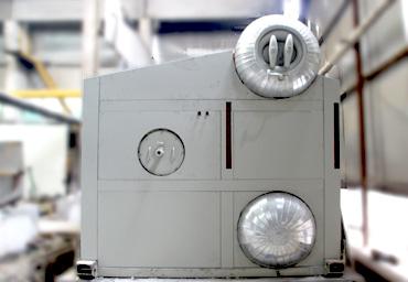 河南巩义10吨SZS型燃气锅炉项目