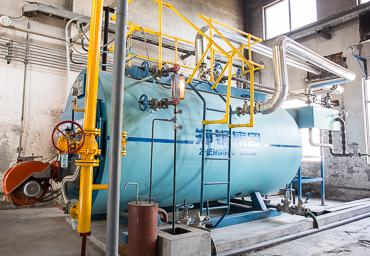 郑州双塔2吨燃气锅炉项目