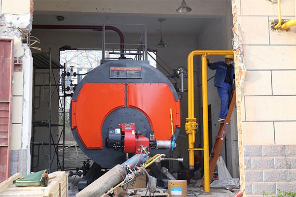 万通药业4吨燃气锅炉项目